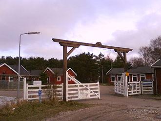Liseleje - Melbylejren's main entrance