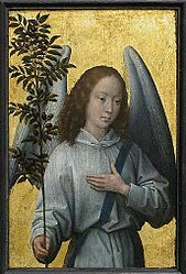 Hans Memling: Angel with an Olive Branch