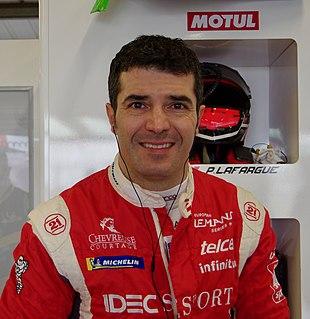 Memo Rojas Mexican racing driver