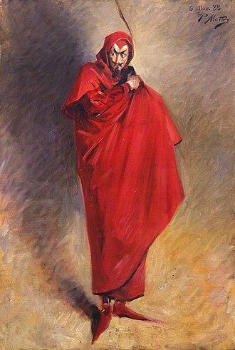 Anton LaVey - Image: Mephistopheles 1888