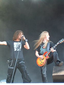 Mats Levén med Christofer Johnsson, Therion 2004