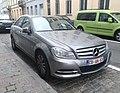 Mercedes Classe C Belgium Diplomatic plate (44498276884).jpg
