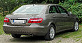 Mercedes E 350 CDI BlueEFFICIENCY Elegance (W212) rear 20100822.jpg