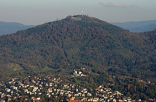 Merkur (mountain) mountain in Germany