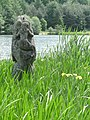 Mermaid on a frog in the rushes^ May 2011 - panoramio.jpg