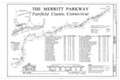 Merritt Parkway, Beginning in Greenwich and running 38 miles to Stratford, Greenwich, Fairfield County, CT HAER CONN,1-GREWI,2- (sheet 2 of 21).png