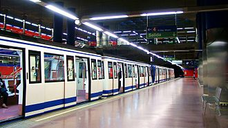 Transport in Madrid - The Madrid Metro is one of the largest and fastest growing systems in the world.