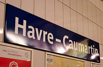 Havre – Caumartin (Métro Paris)