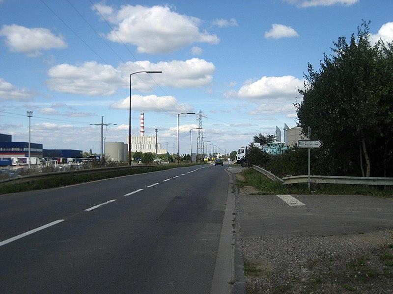 Metz,  véloroute Charles le Téméraire