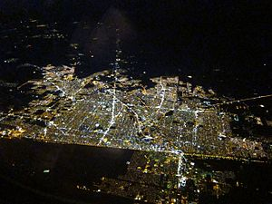 Mexicali from the air