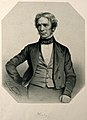 Michael Faraday. Lithograph by T. H. Maguire, 1851. Wellcome V0001857.jpg