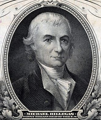 Treasurer of the United States - Image: Michael Hillegas (Engraved Portrait)