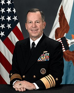 Chairman of the Joint Chiefs of Staff, Admiral Mike Mullen