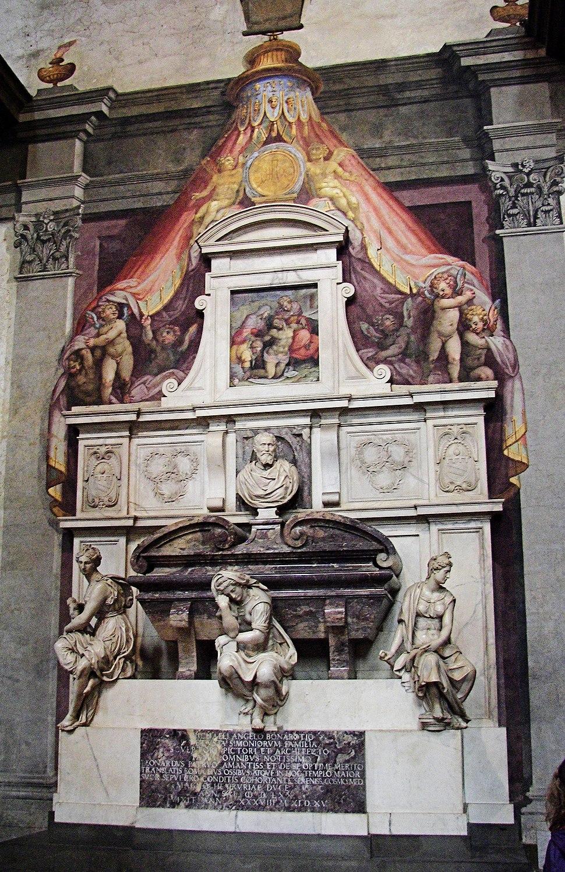 Michelangelo's grave4