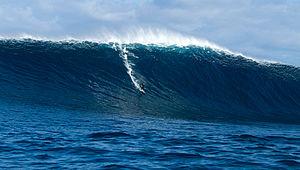 Surfing in Australia - Mick Corbett riding Cowaramup Bombora, Western Australia, 2014