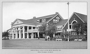 Midlothian Country Club - The first clubhouse (1898, demolished) - Albert Granger, architect