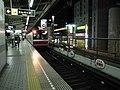 Midosuji Line Esaka station platform - panoramio - DVMG (1).jpg