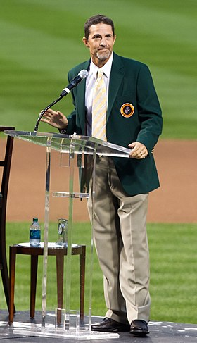 Mike Mussina, Baltimore Orioles Hall of Fame ceremony.jpg