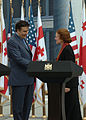 Mikheil Saakashvili met Henrietta Fore.jpg