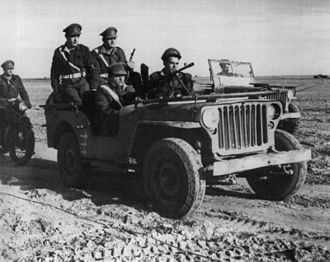 Military Police Corps (Israel) - Military police vehicle in the 1948 Arab–Israeli War