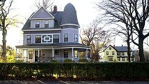 Harrison Square Historic District - Image: Mill Street, Harrison Square Historic District Boston MA 01