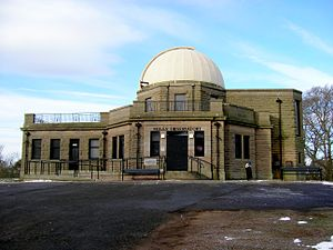 Balgay - Mills Observatory, located on the summit of Balgay Hill