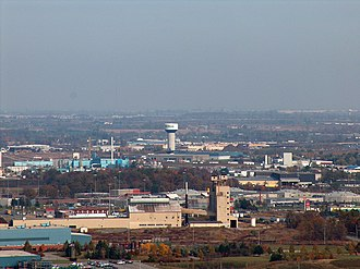 Milton, Ontario - Milton from escarpment