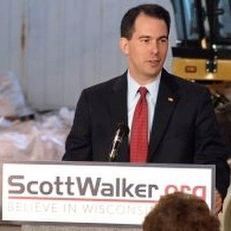 Scott Walker (politician) - Scott Walker in 2009
