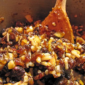 Mince pie - Home-made mincemeat