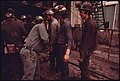 Miners at Virginia-Pocahontas Coal Company Mine -4 Are Searched for Smoking Materials Prior to Taking the Elevator Into the Mine for the 4 P.M. to Midnight Shift 04-1974 (3906408875).jpg