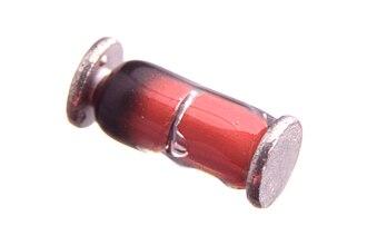 Metal electrode leadless face - MiniMelf diode.