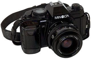 Minolta Maxxum 9000 camera model