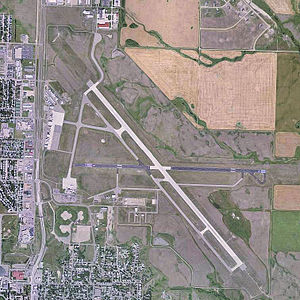 Minot International Airport - USGS 2006 orthophoto