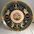 Minton tin-glazed maiolica SPQR plaque, 1860. Private Collection, England, UK.jpg