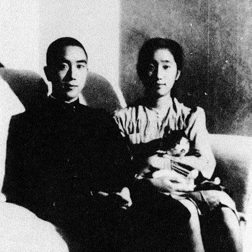 Mishima Yukio and sister