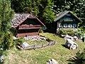 Modellpark Mönichkirchen - Geburtshaus und Schule Peter Rosseggers.JPG