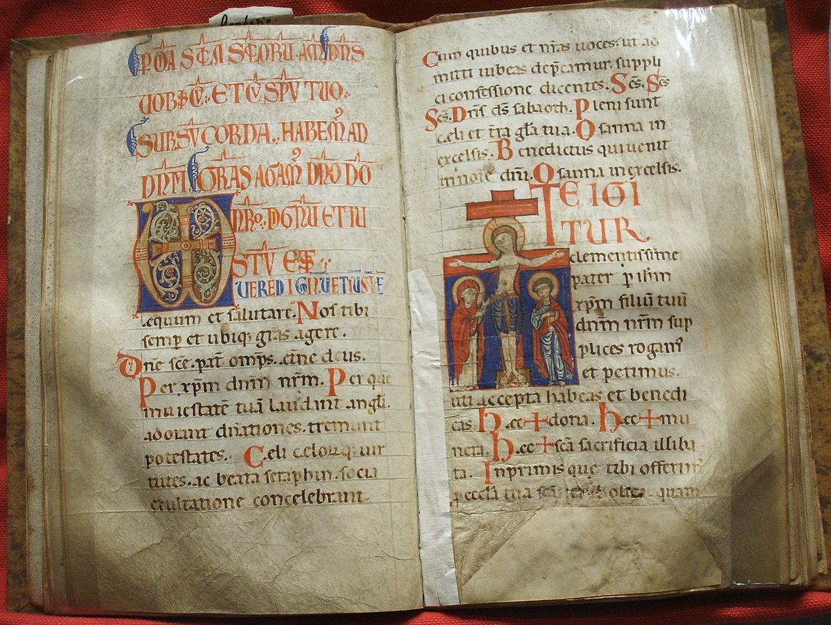 Calendario Liturgico Maranatha.Messale Wikipedia