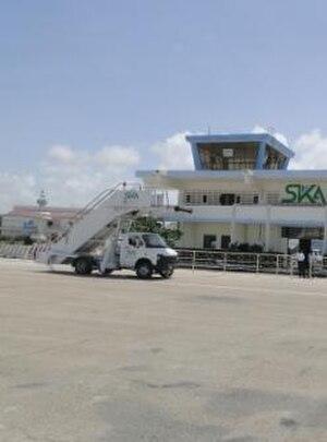Aden Adde International Airport - Old terminal building