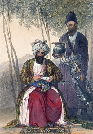 Vizier - An Iranian Afsharid Vizier.