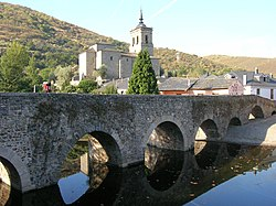 Bridge over the Meruelo river, created in times of the Ancient Rome