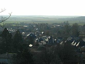 Moncontour, Vienne - The village of Moncontour
