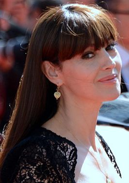 Monica Belluci in Cannes in 2014