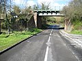 Monks Risborough, Mill Lane railway bridge - geograph.org.uk - 754940.jpg
