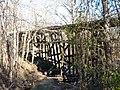Monroe County - Victor Pike - abandoned railway - trestle - P1120766.JPG