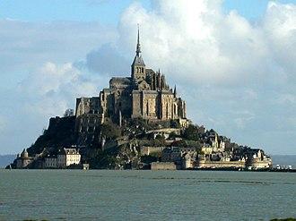 Manche - Image: Mont St Michel