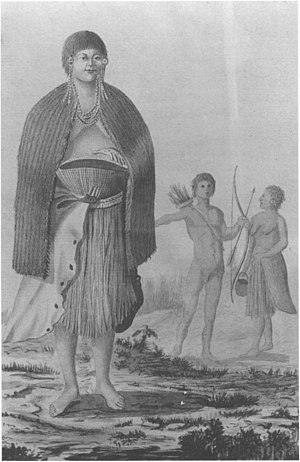 José Cardero - An Indian native of the Monterey, California area circa 1791 by Cardero.