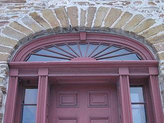 Fanlight - Fanlight Montgomery's Inn, Ontario