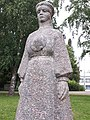 Monument of Hilana Taarka, Obinitsa village Setomaa region, Estonia03.jpg