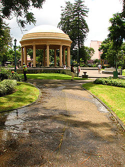 Morazán Park in San José City