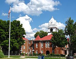 Morgan County Courthouse in Wartburg
